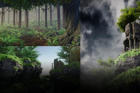 Blender 2.79 Nature environment creation