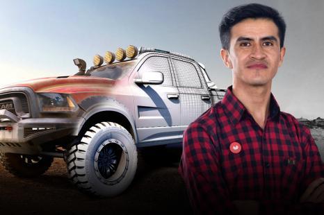 Introducción al modelado de vehículos en 3D