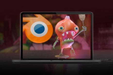 Producción de Criaturas Cartoon 3D en Blender 2.8