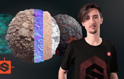 Introducción a la creación de texturas con Substance Designer