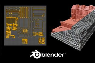 Blender 2.8: EXPERTO en UV Mapping de Assets para Videojuegos