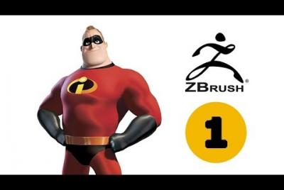 Creación Personaje 3D Mr. Increíble en Zbrush vol 1- Cabeza