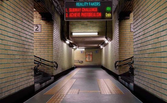 Achieve 3D Photorealism in Blender 2.8: Subway Challenge