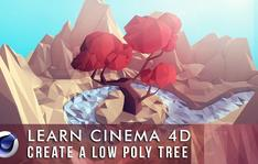 Learn Cinema 4D: Low Poly Tree