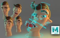 Rigging Facial estilo Cartoon en Maya